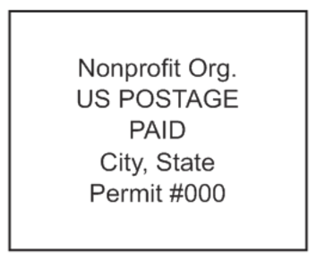 Non-profit Org Mail Stamp PSI-4141