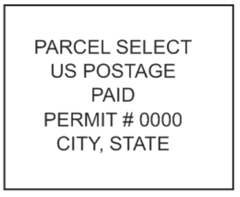 Parcel Select Mail Stamp PSI-4141